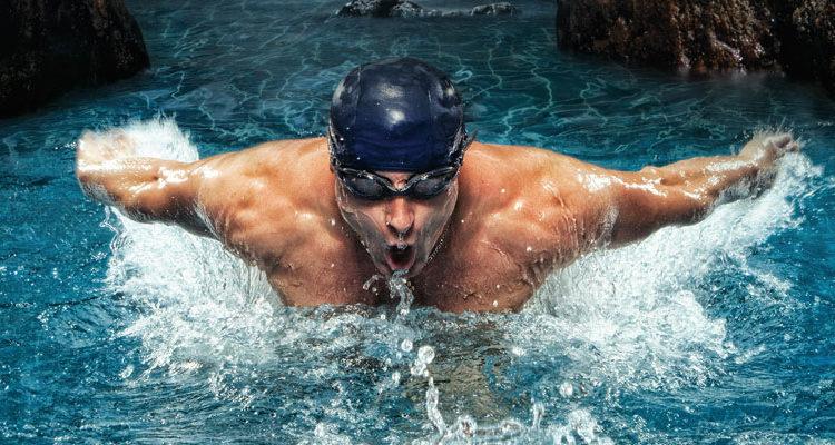 Ćwicz ciało w wodzie